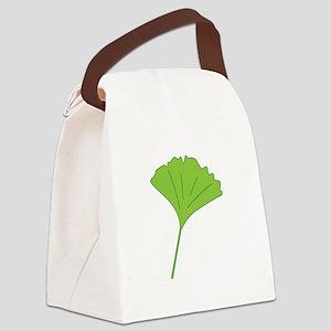 Ginkgo Leaf Canvas Lunch Bag
