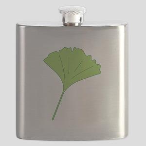 Ginkgo Leaf Flask