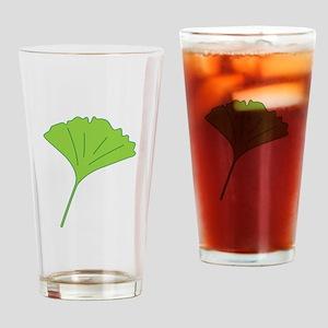 Ginkgo Leaf Drinking Glass