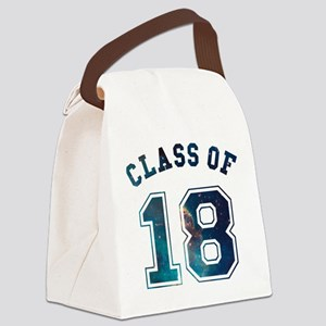 Class of 18 Space Canvas Lunch Bag
