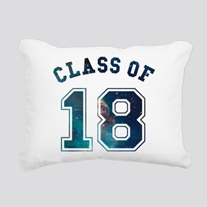 Class of 18 Space Rectangular Canvas Pillow