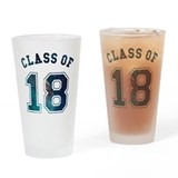 Class of 2018 Drinking Glass