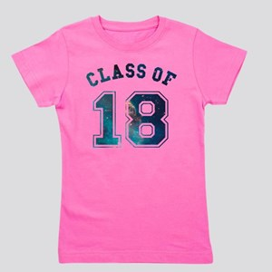 Class of 18 Space Girl's Tee