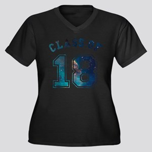 Class of 18 Space Plus Size T-Shirt