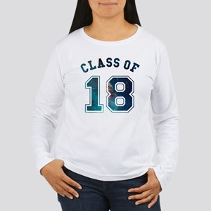 Class of 18 Space Long Sleeve T-Shirt
