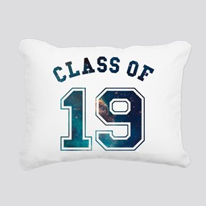 Class of 19 Space Rectangular Canvas Pillow