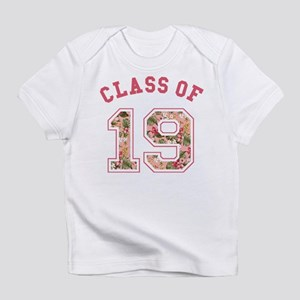 Class of 19 Floral Pink Infant T-Shirt