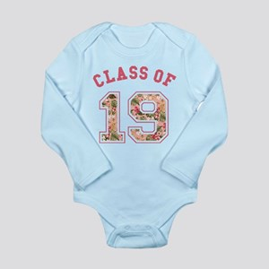 Class of 19 Floral Pink Body Suit