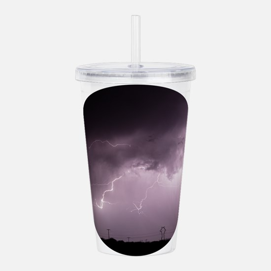 The Electrical Grid Acrylic Double-wall Tumbler