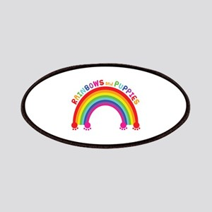 Rainbows And Puppies Patch
