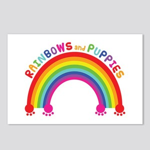 Rainbows And Puppies Postcards (Package of 8)