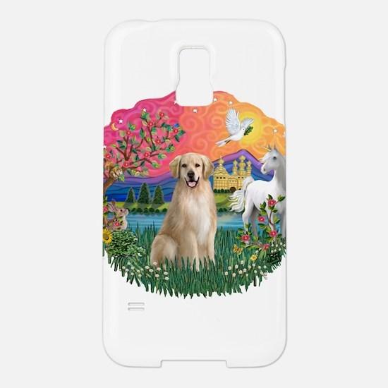 FantasyLand-Golden8.png Samsung Galaxy S5 Case