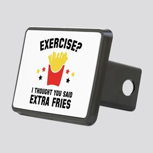 Exercise? Rectangular Hitch Cover