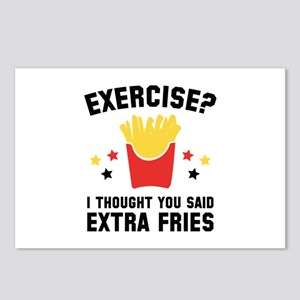 Exercise? Postcards (Package of 8)