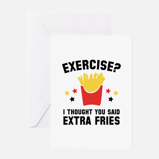 Exercise? Greeting Card