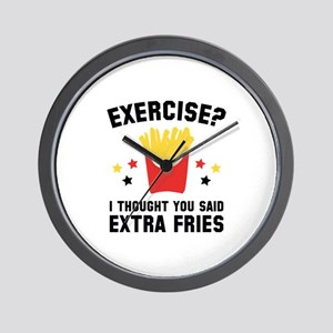 Exercise? Wall Clock