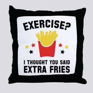Exercise? Throw Pillow