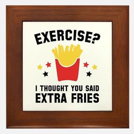 Exercise? Framed Tile