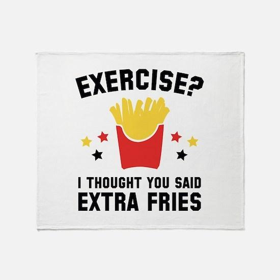 Exercise? Stadium Blanket