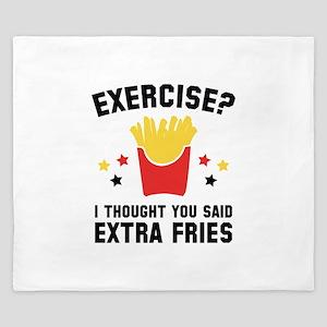 Exercise? King Duvet