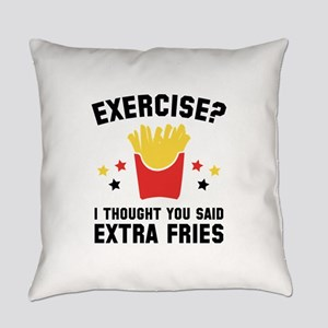 Exercise? Everyday Pillow
