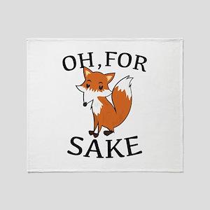 Oh, For Fox Sake Stadium Blanket