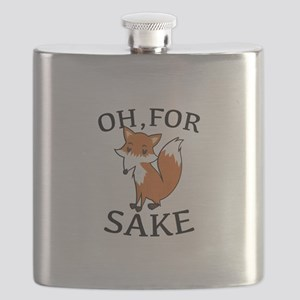 Oh, For Fox Sake Flask