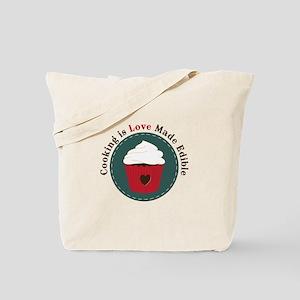 Cooking Is Love Tote Bag