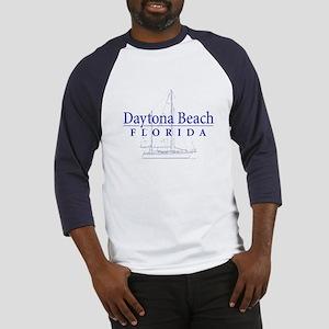 Daytona Beach Sailboat - Baseball Jersey