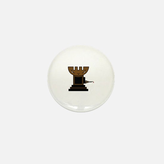 Chess Pawn Mini Button