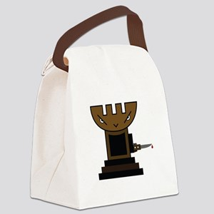 Chess Pawn Canvas Lunch Bag