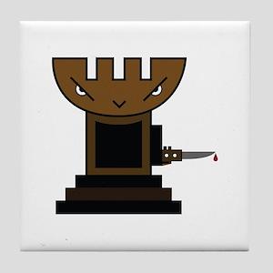 Chess Pawn Tile Coaster