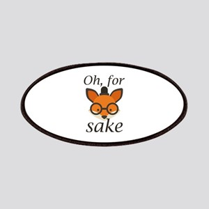Oh, For Fox Sake Patches
