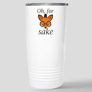 Oh, For Fox Sake Ceramic Travel Mug