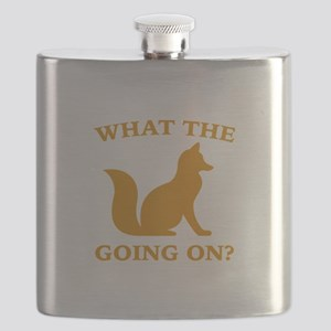 What The Fox Going On? Flask