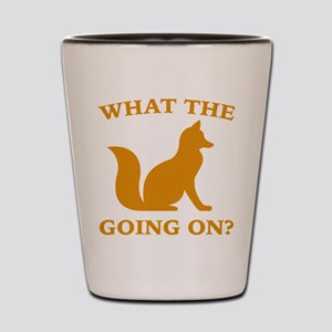 What The Fox Going On? Shot Glass