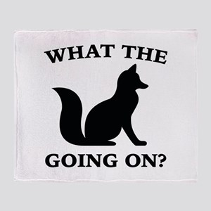 What The Fox Going On? Stadium Blanket