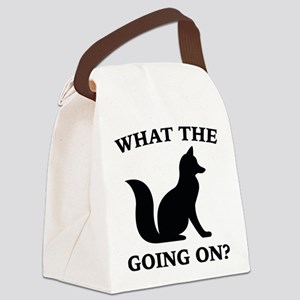 What The Fox Going On? Canvas Lunch Bag