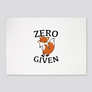 Zero Fox Given 5'x7'Area Rug