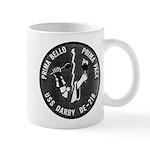 USS DARBY Mug