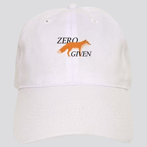 Zero Fox Given Cap