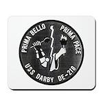 USS DARBY Mousepad