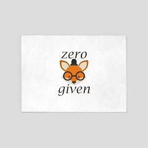 Zero Fox Given 5'x7'Area Rug