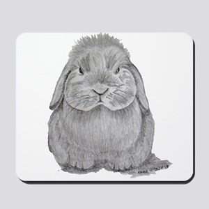 Holland Lop by Karla Hetzler Mousepad
