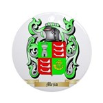 Mejia Round Ornament