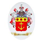 Mejerson Oval Ornament