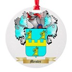 Meister Round Ornament