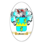 Meister Sticker (Oval 50 pk)