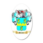 Meister 35x21 Oval Wall Decal