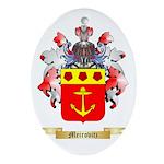 Meirovitz Oval Ornament